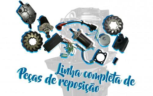Linha Completa de Peças de Reposição Originais Hidea Motores